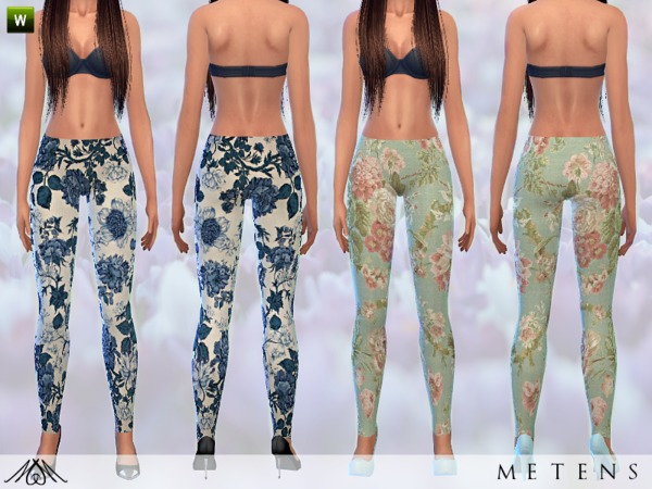 The Sims Resource: Memories leggings by Metens