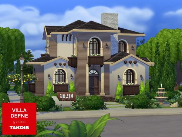 The Sims Resource: Villa Defne by Takdis