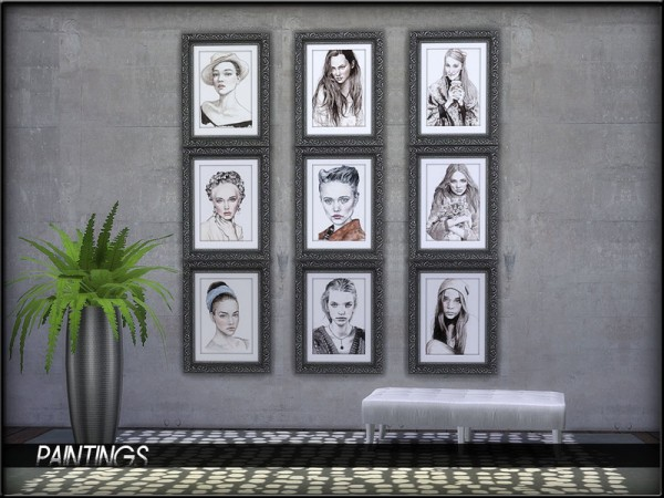 The Sims Resource: Painting Set1 by ShojoAngel