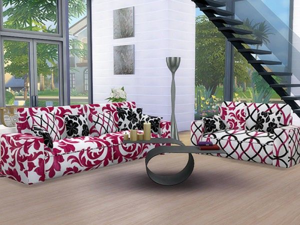 The Sims Resource Sofa And Loveseat Slide Recolors By