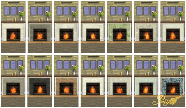 Simsational designs: Vulcanus Modern Fireplace