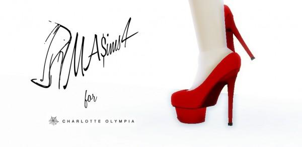 MA$ims 3: Charlotte Olympia Platform Pumps