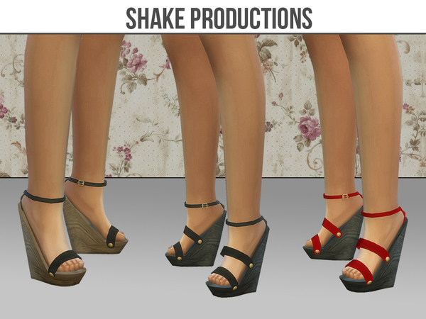The Sims Resource: 09 Shoes set by ShakeProductions