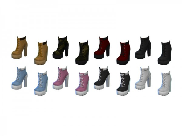 The Sims Resource: Trigger Boots by Sentate
