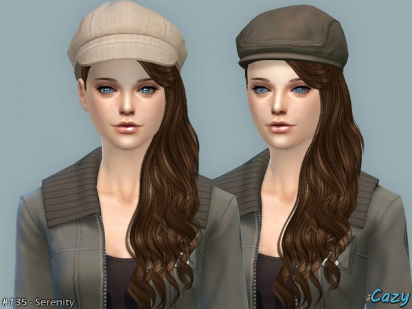 The Sims Resource Serenity 2 Hair By Cazy Sims 4 Downloads