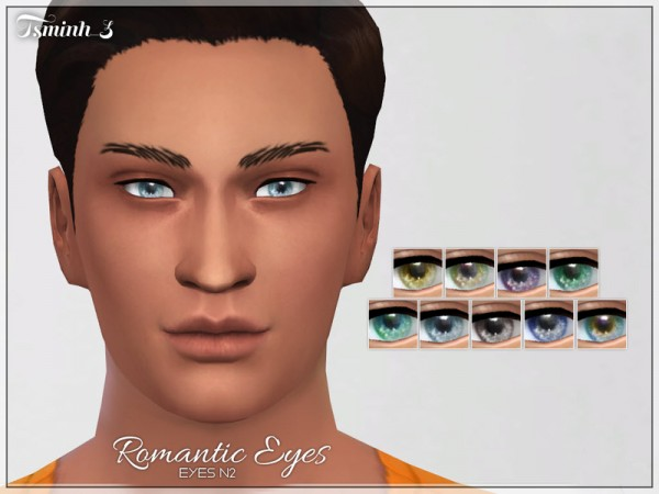The Sims Resource: Romantic Eyes by tsminh 3