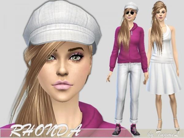 The Sims Resource: Rhonda sims model