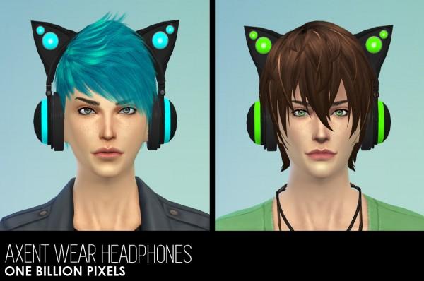One Billion Pixels: Axent Wear Headphones