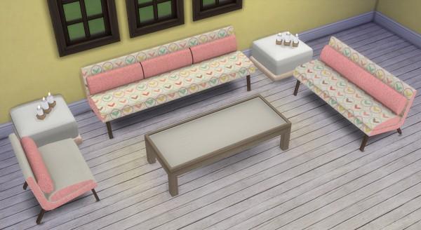 Saudade Sims: Hadley livingroom