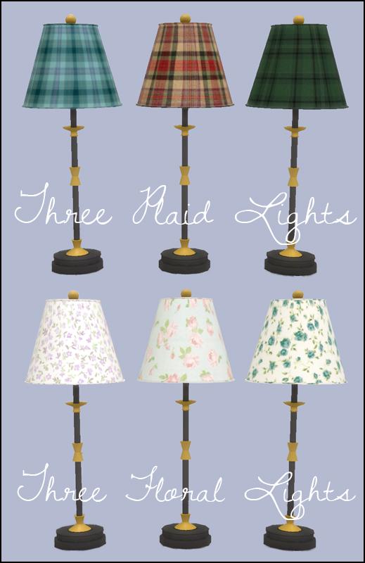 Martine Simblr: Table lights