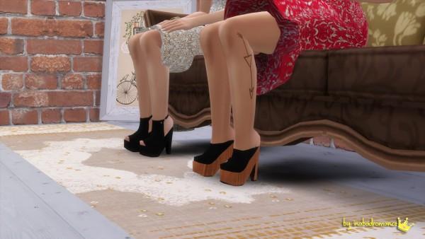 In a bad romance: Heels