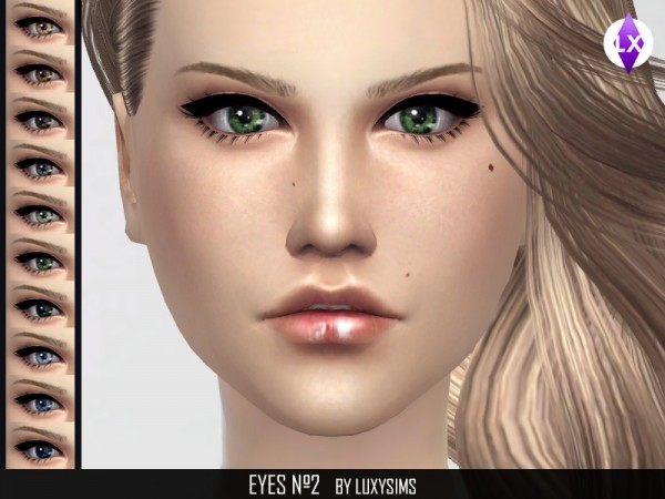 The Sims Resource: Eyes N2 by LuxySims