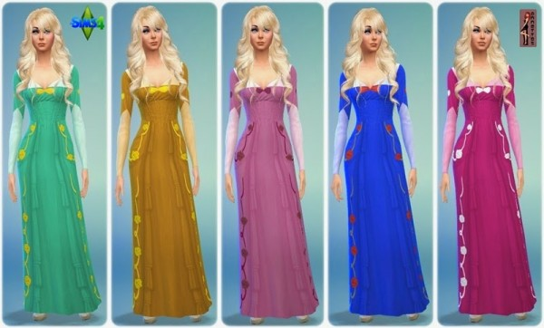 Annett S Sims 4 Welt Fairytale Dress Cinderella Sims 4