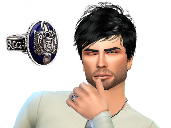 Sims Fans: Damon and Elena rings