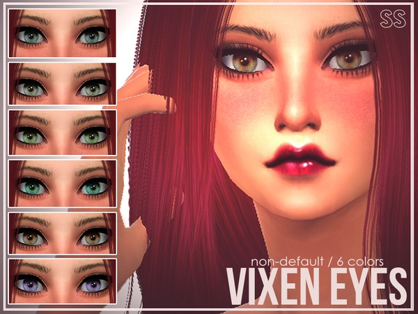 The Sims Resource: Vixen Eyes by SenpaiSimmer