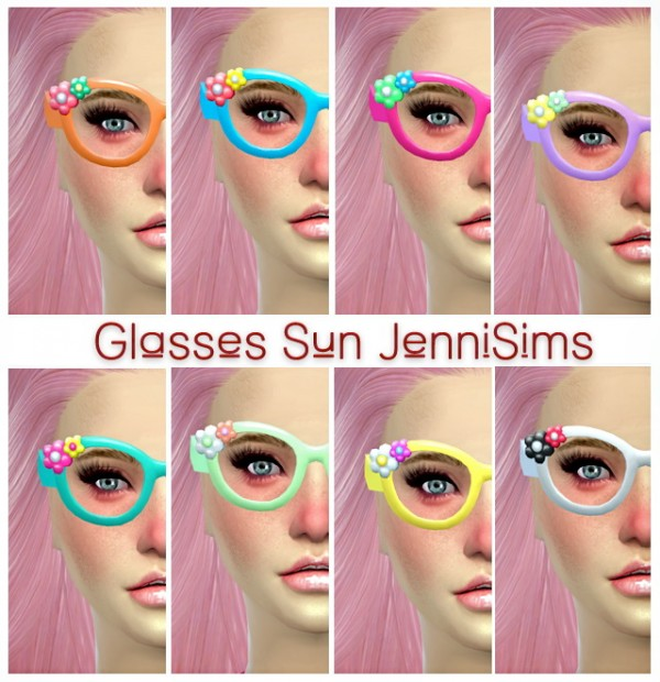 Jenni Sims: Glasses and Necklace Base Game compatible Outdoor Retreat conversion of child