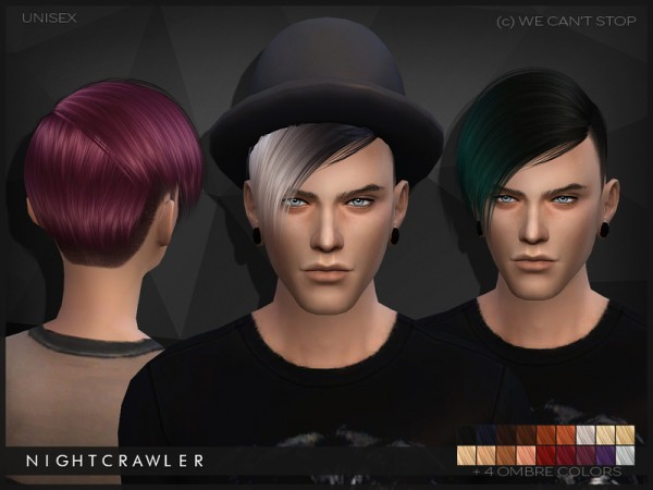 The Sims Resource: We Cant Stop hairs by Nightcrawler
