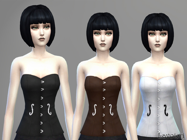 The Sims Resource: Violin Corset by Lavoieri