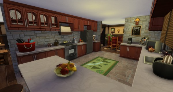 Lacey Loves Sims Luxury Log Cabin Sims 4 Downloads