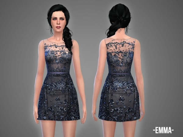 The Sims Resource: Emma   dress by April
