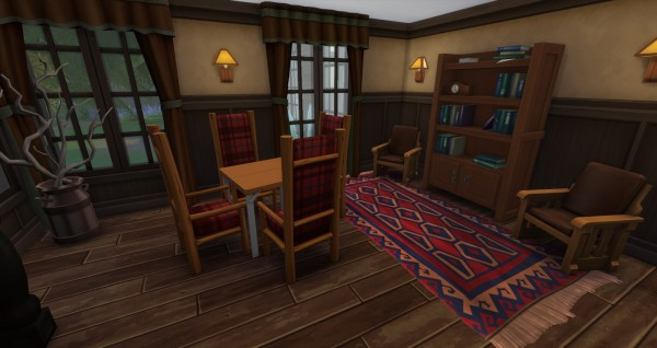 Lacey loves sims: Luxury Log Cabin