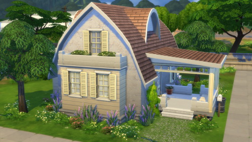 Totally Sims Nightingale Cottage Sims 4 Downloads