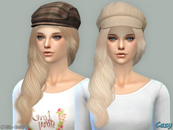 The Sims Resource: Danity Hairstyle by Cazy