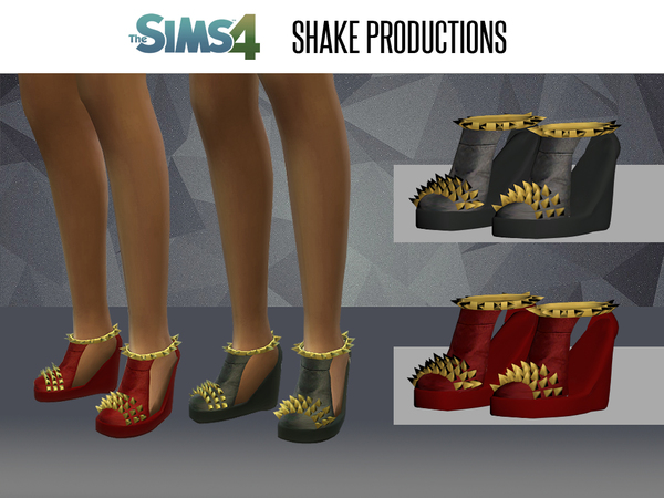 The Sims Resource: Shoes 08 new mesh by ShakeProductions