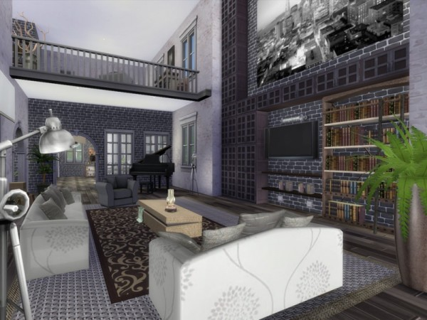 The Sims Resource: London Flat by Chemy