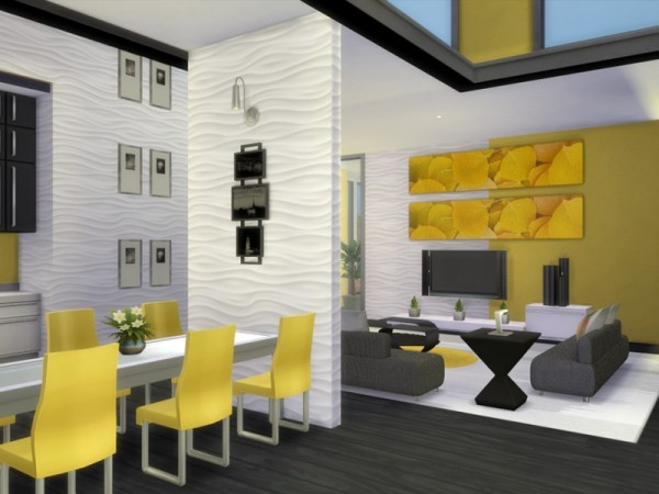 The Sims Resource: Sunglow Modern by Chemy