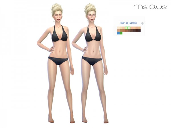 The Sims Resource: Skintone Set V1 by Ms Blue