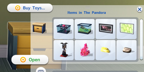 Mod The Sims: Toy Box Stores Collectibles by egureh