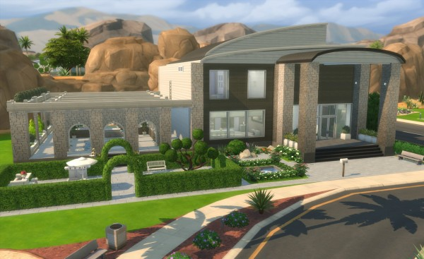 Mod The Sims: Sweet modern home Alice by erfadk