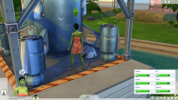 Mod The Sims: New Trait: Alien! by danburite2