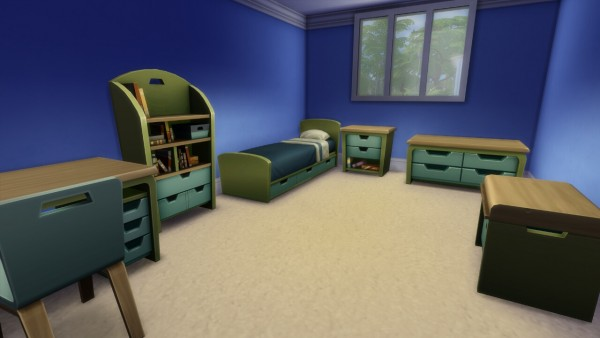 Mod The Sims: Plain Childrens Furniture by Wee Albet