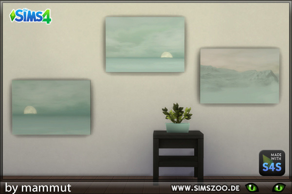 Blackys Sims 4 Zoo: Winter paints 1 by mammut