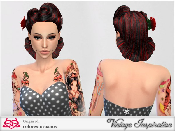 The Sims Resource: Victory Rolls 02 by Colores Urbanos