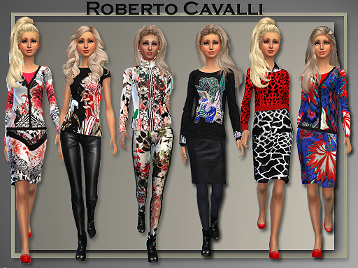 All About Style: Roberto Cavalli Separates 2014