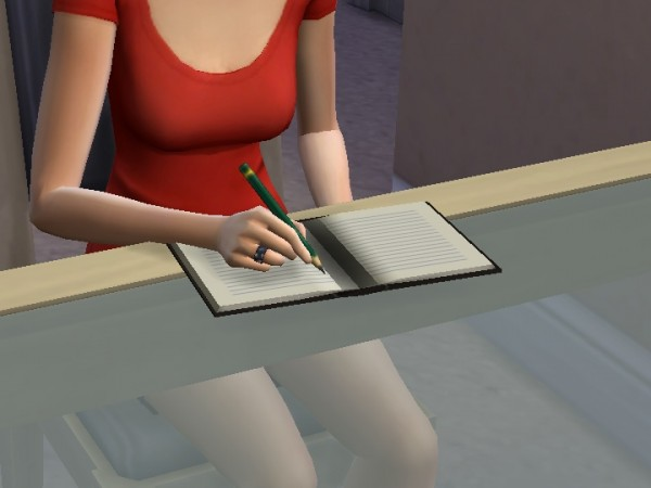 Mod The Sims: Notebook V1 by plasticbox