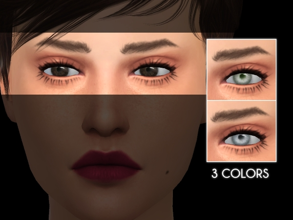 The Sims Resource: Eye Set 01 by Lupin Sim
