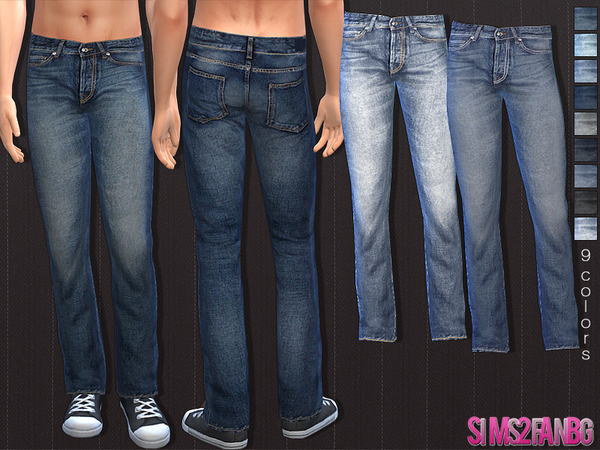 The Sims Resource: 34   Male jeans by Sims2fanbg