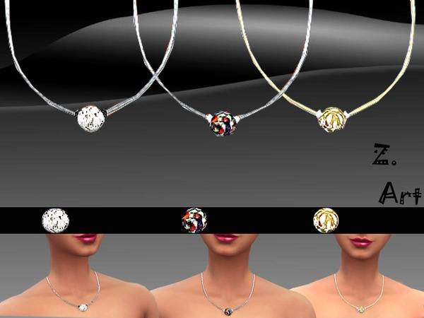 The Sims Resource: Diamond Ball pendant by Zuckerschnute20