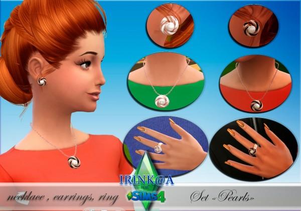 Irinka: Set Pearls