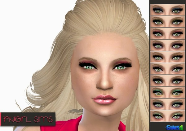 NY Girl Sims: Eye Shadow N02