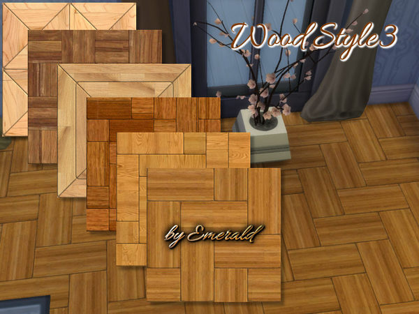 The Sims Resource: Wood Style 3 by Emerald