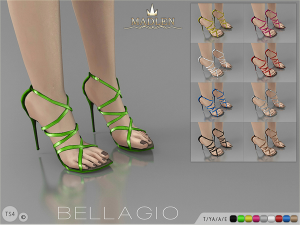 The Sims Resource: Madlen Bellagio Shoes by MJ95