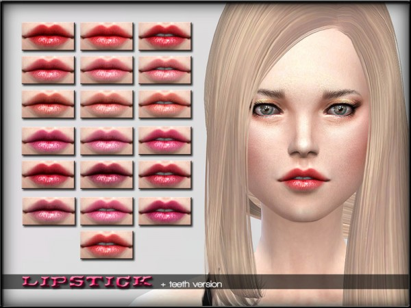 The Sims Resource: Lipstick Set 7 by ShojoAngel