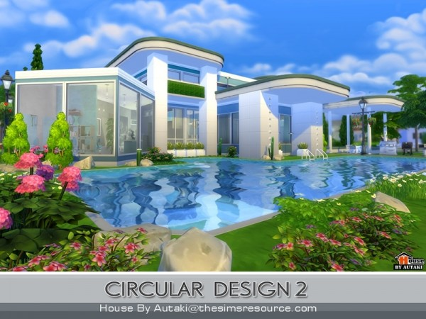 The sims resource circular modern design 2 by autaki for Home design resources