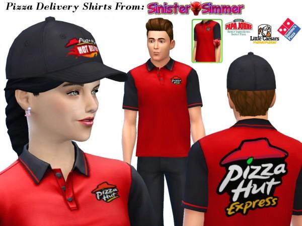 Mod The Sims: The Pizza Posse   Mod by Sim4Matrix
