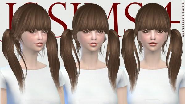 JS Sims 4: Raonjena 07 Hair Retexture